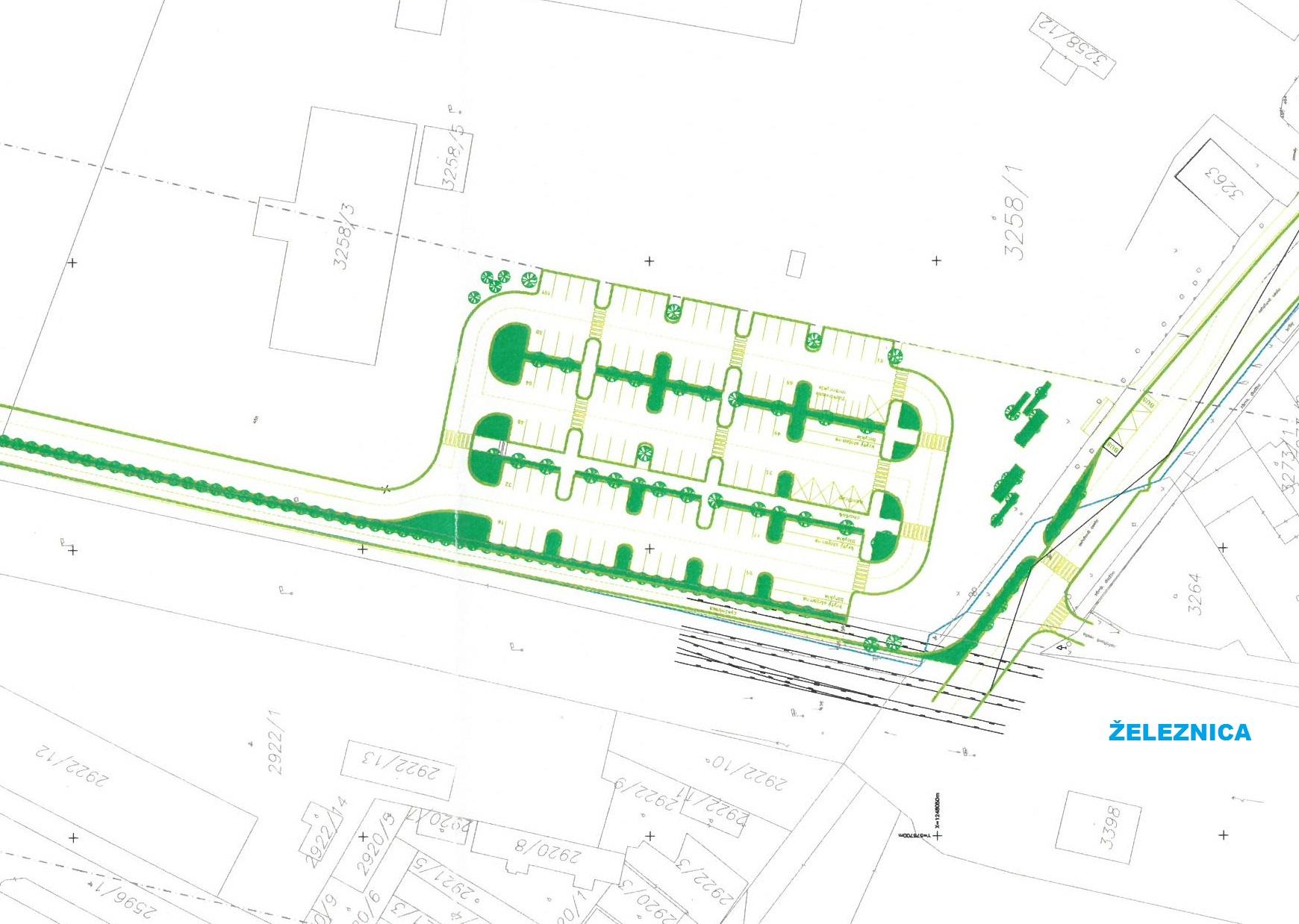 81099f1ef ... pre vyše 150 bicyklov. Na parkovisko vrátane prístupovej komunikácie by  mesto potrebovalo ešte tento rok vysporiadať pozemok s rozlohou zhruba 5000  m2.